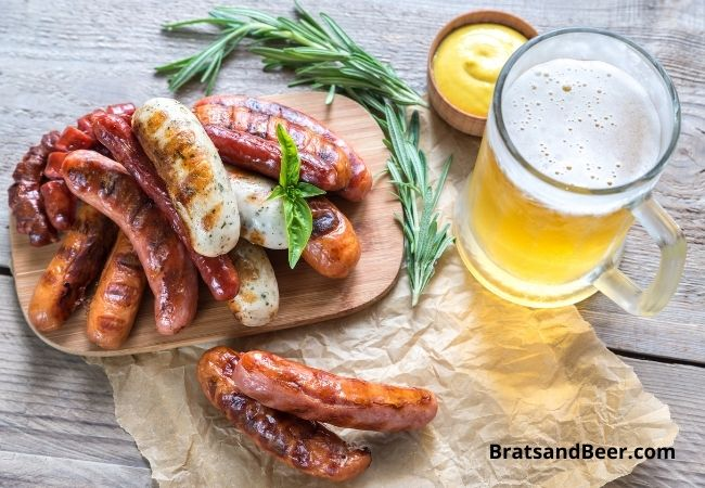 How to cook Bratwurst in Beer