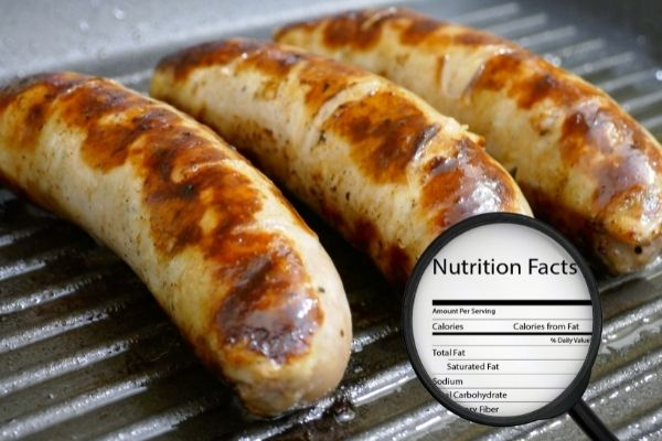 Bratwurst Nutrition and Information Facts