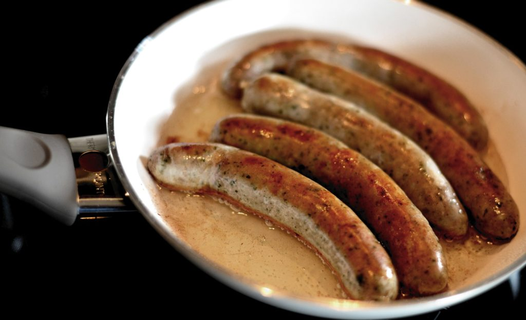 cooking Brats
