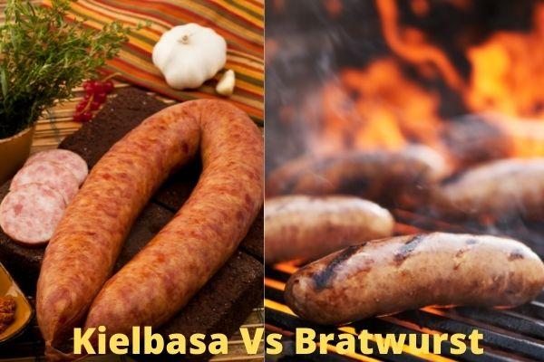Differences between Bratwurst and Kielbasa