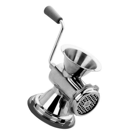 stainless steel blades manual meat grinder