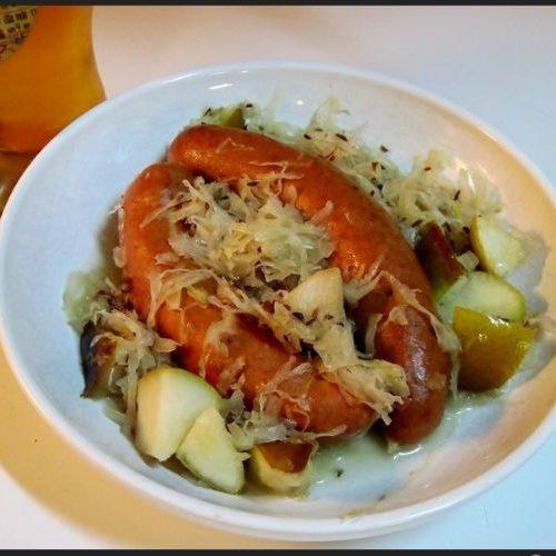 bratwurst sauerkraut recipe
